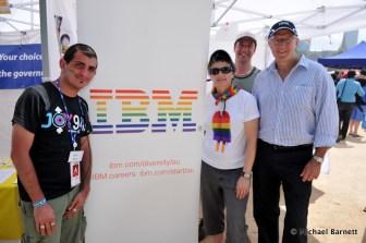 IBM and JOY 94.9 at the 2011 Melbourne Midsumma Carnival