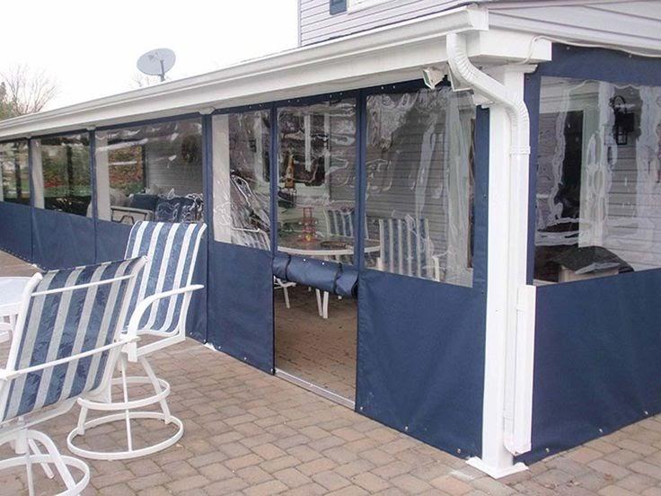 design 65 of temporary patio enclosure