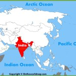Cities And Towns Map Map Of Asia India