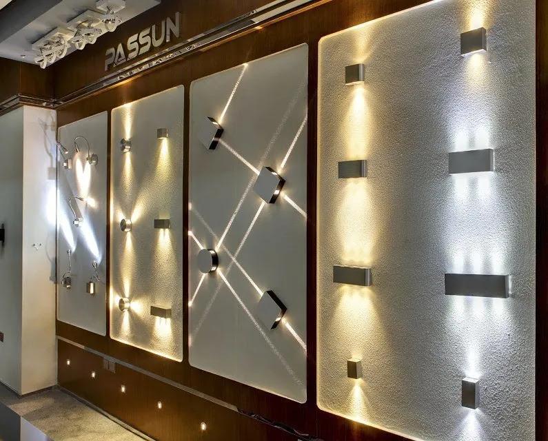 smart idea boundary wall lighting ideas