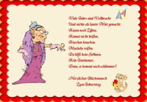 Geburtstagsspruche Lustig Witzig Frech Originell Kurz