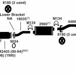 Best Toyota 1990 Toyota Corolla Exhaust System