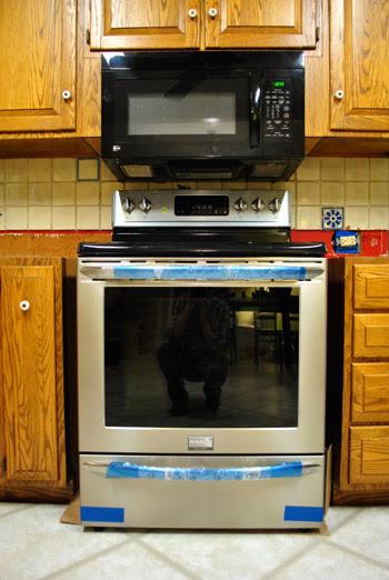 range microwave installation height