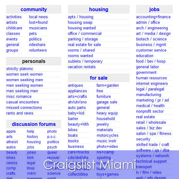 Craigslist Broward Jobs View wyoming jobs along with direct links to apply online. release news2u co jp