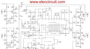 Draw your wiring : Mic Mixer With Echo Schematic Diagram