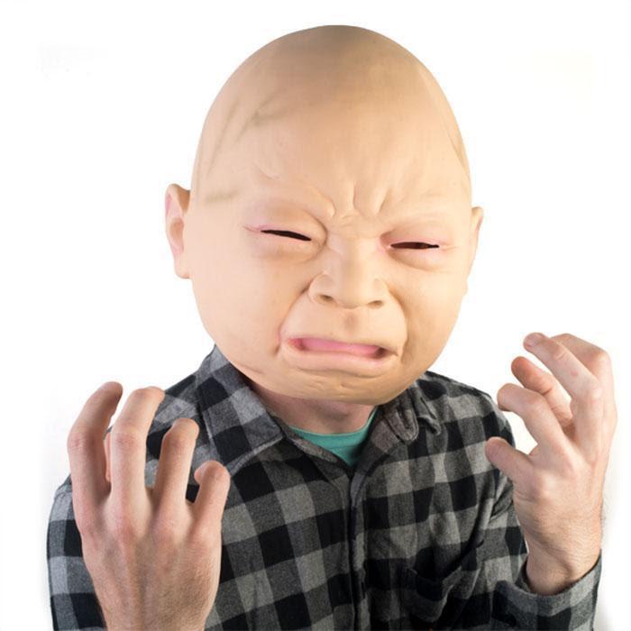Crying Baby Mask Meme Baby