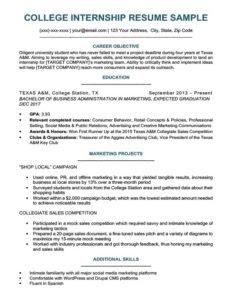 Resume Template Gallery