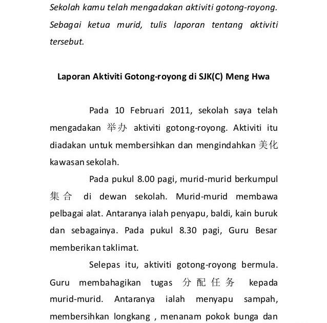 Doc Laporan Reflektif Gotongroyong Ldp Afzan Ahmad Academia Edu