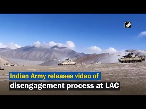 Watch: Indian Army Releases Video of Disengagement Process At LAC