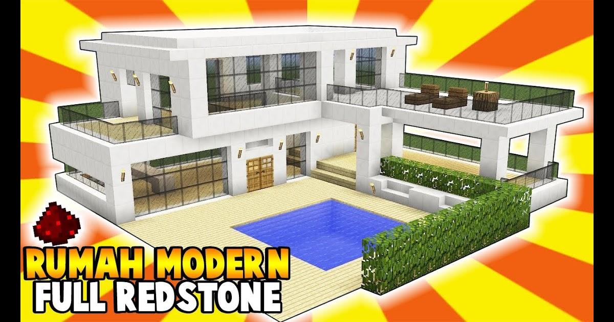 Ide Desain Rumah Modern Di Minecraft Terlengkap Kampong Desain