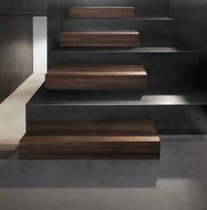 diseño-de-escalera-moderna-peldaño-de-madera