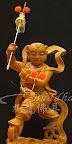 特別訂製神像佛像:八吋八原木踩雙輪的牛奶糖太子~從影像圖片到立體雕刻的過程