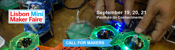 lisbon mini maker faire banner