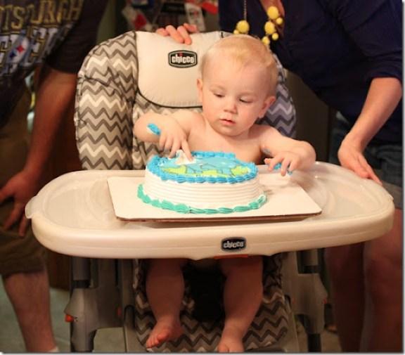 Hayden's first birthday 143