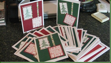 Lovey Kitties and Christmas cards 013