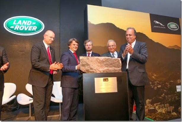 Lançamento Pedra Fundamental JLR