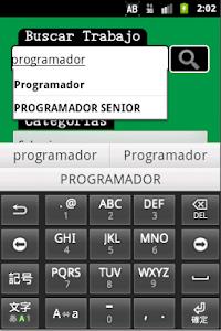 Busco Trabajo screenshot 1