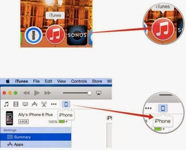 itunes restore your iPhone 2