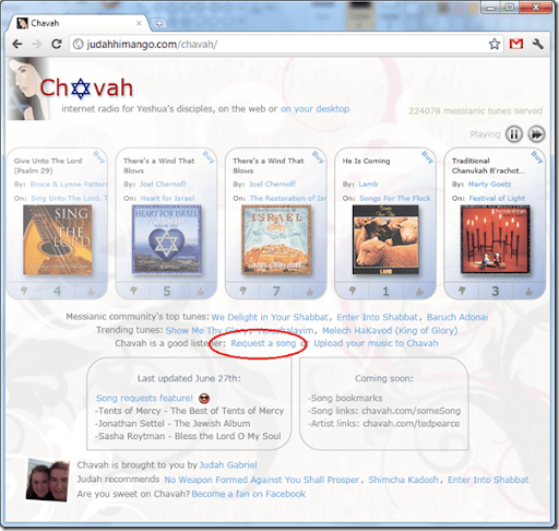 Chavah Messianic Radio is taking over the whole world