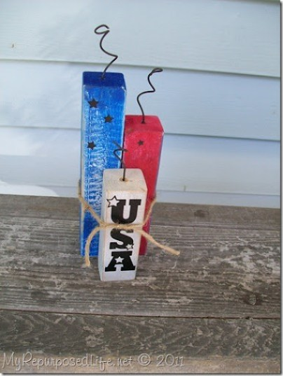 how to make scrap wood firecrackers