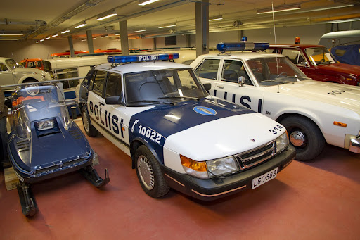 Saab 900i 16v Police Car. Finland.