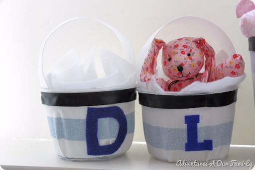 easy diy easter basket for free