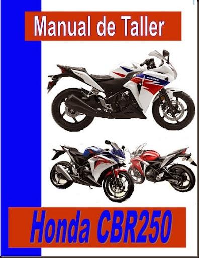 taller honda cbr 250