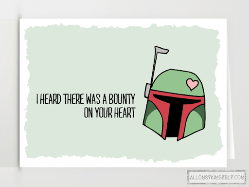 Freebie: Star Wars Valentine's Day Cards | allonsykimberly.com
