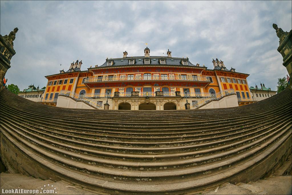 Евротур. Пильниц - летний замок саксонских королей