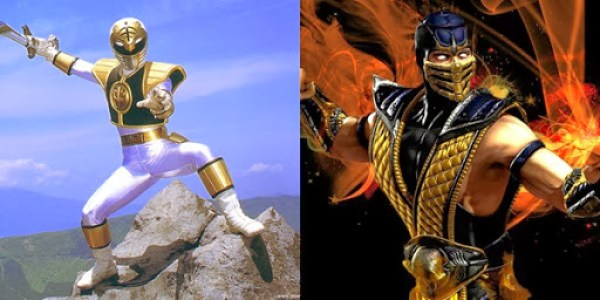 White Ranger Vs Scorpion