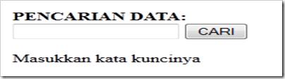 Tutorial Cara Membuat Cari Data Di Php dan MySQL