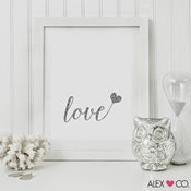 A Night Owl - Love Printable