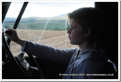 Ric driving Daisy3