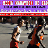 X Media Maratón de Elda (26-Marzo-2011)