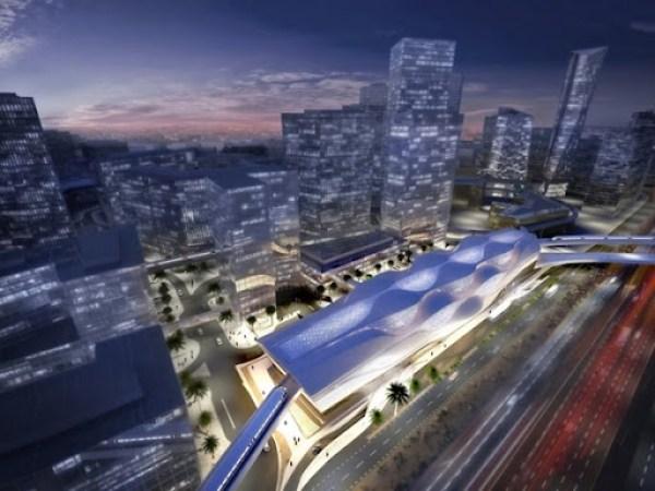 metro Rey Abdullah Financial District de Zaha Hadid
