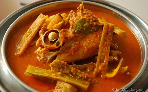 fish head curry - Meen Thala Curry