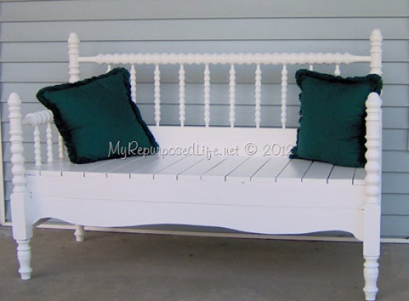 Groovy 50 Headboard Bench Ideas My Repurposed Life Rescue Re Short Links Chair Design For Home Short Linksinfo