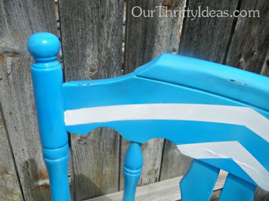 Distressed Chair Makeover