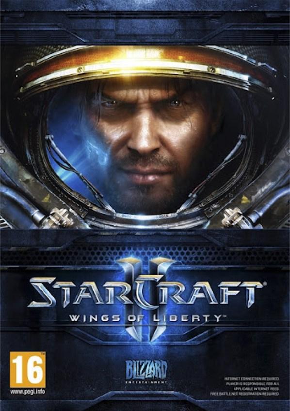 StarCraft 2 Box Art