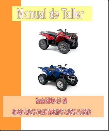 manual taller yfm 400 450