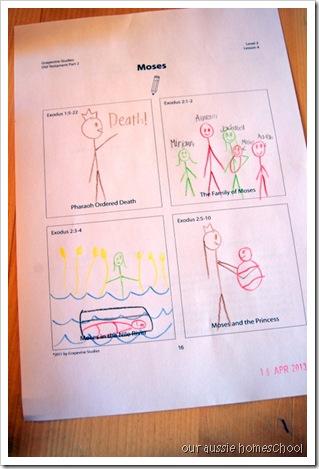 Our Aussie Homeschool ~ Grapevine