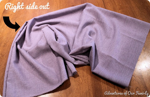 infinity scarf diy tutorial
