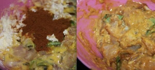 Chicken Pakora step2