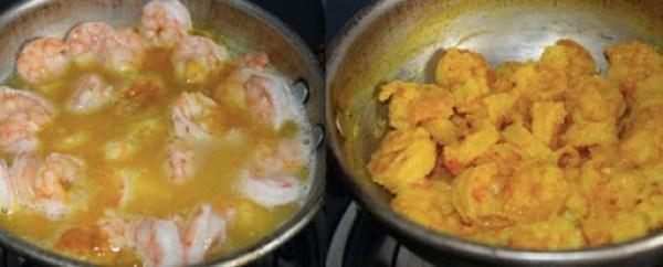 Prawn Fried Rice step1