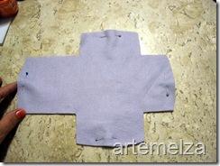 artemelza - bolsa de feltro duplo-2