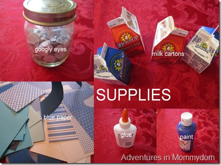 supplies collage
