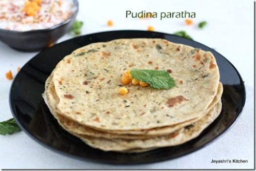 pudina-paratha