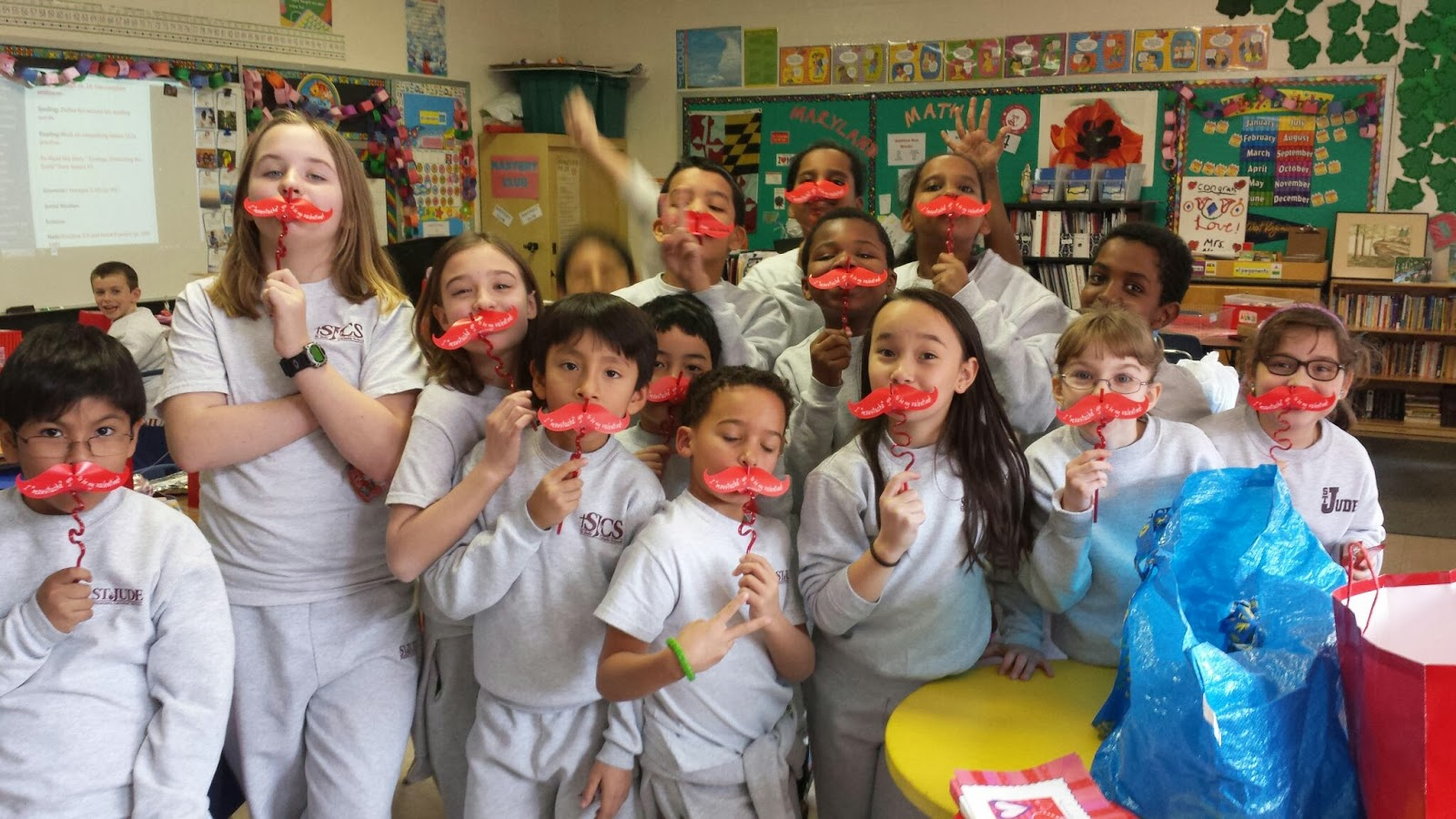 Mrs Balog S Fourth Grade Class Happy Valentine S Day Fourth Grade