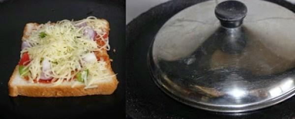 Bread pizza step3