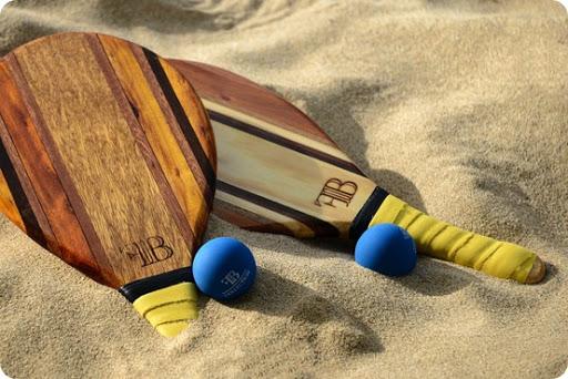 beach paddle set $225 at Rosewood's Jumby Bay resort